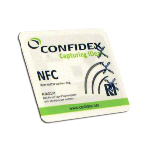 Kit NFC Sticker NON METAL